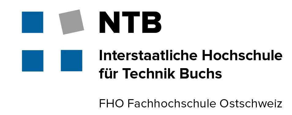 Logo NTB Interstaatliche Hochschule für Technik Buchs