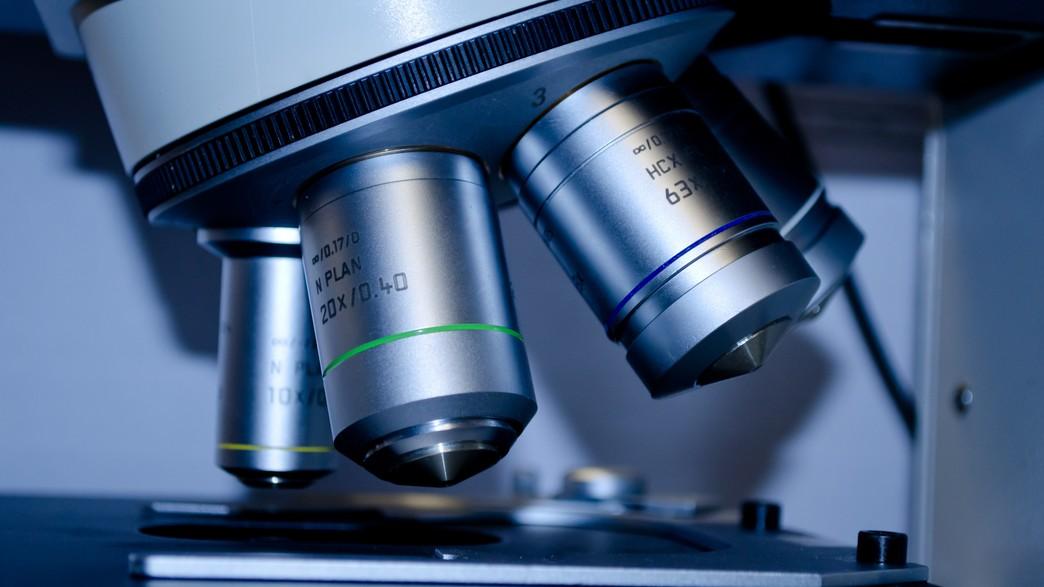 Auch in Mikroskopen steckt Photonics.